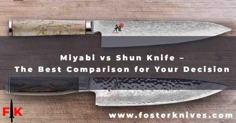 Miyabi vs Shun Knife
