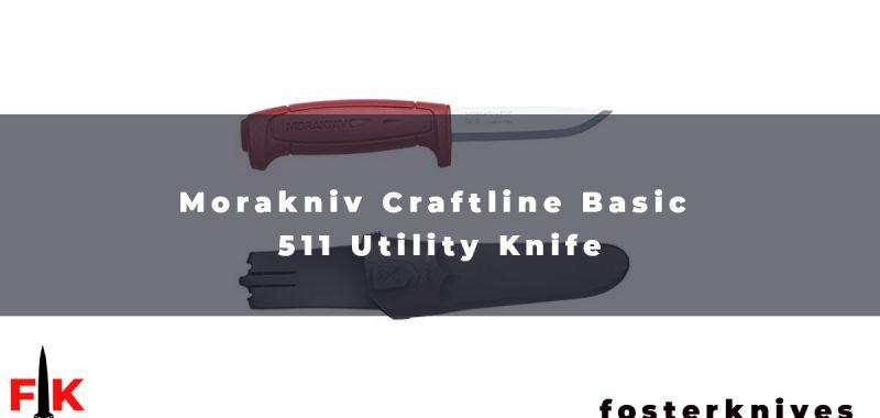 Morakniv Craftline Basic 511 Utility Knife