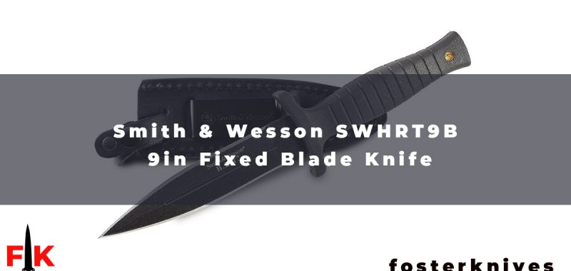 Smith & Wesson offers a wide range of knives; whether you need a fixed-blade knife or folding knife, you can get from S&W. SWHRT9B 9in is one of them.