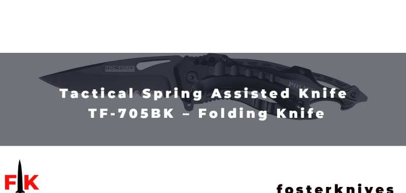 Tactical Spring Assisted Knife TF-705BK - Folding Knife