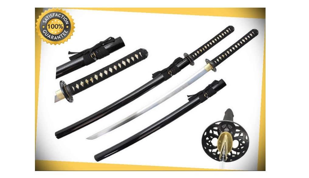 41'' 65MN Spring Steel Samurai Sword Katana