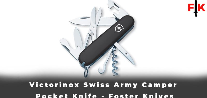 Victorinox Swiss Army Camper Pocket Knife