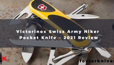 Victorinox Swiss Army Hiker Pocket Knife