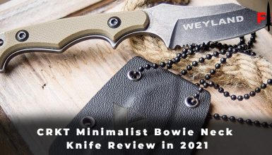 CRKT Minimalist Bowie Neck Knife Review in 2021