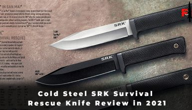 Cold Steel SRK Survival Rescue Knife Review in 2021