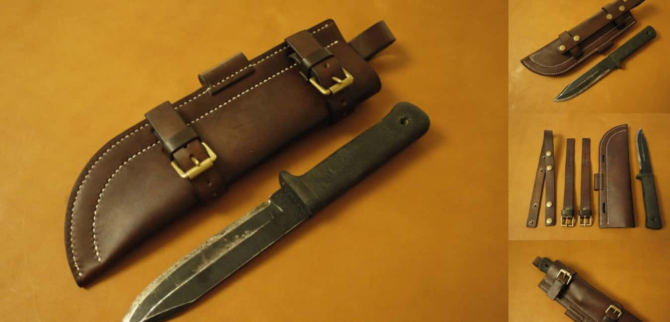 Cold Steel SRK Survival Rescue Knife Sheath and Carry Options