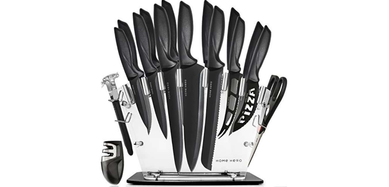 Home Hero 17 Piece Complete Knives Set