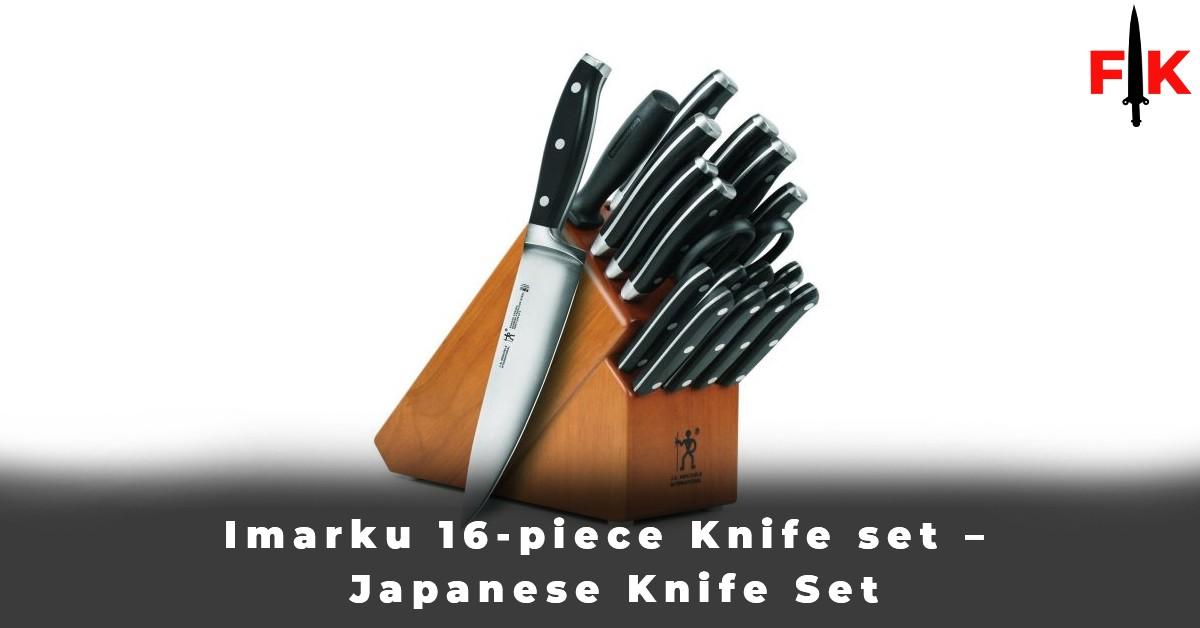 Imarku 16-piece Knife set - Japanese Knife Set