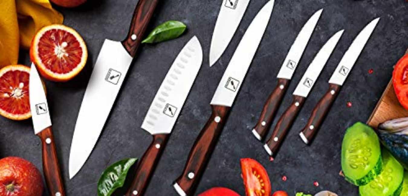 Imarku 16-piece Well balanced Knife Set