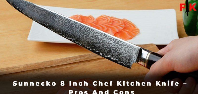 Sunnecko 8 Inch Chef Kitchen Knife