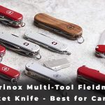 Victorinox Multi-Tool Fieldmaster Pocket Knife - Best for Camping