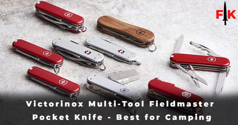 Victorinox Multi-Tool Fieldmaster Pocket Knife - Best for Camping