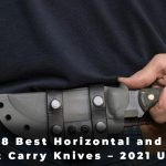 8 Best Horizontal and Scout Carry Knives – 2021 Update