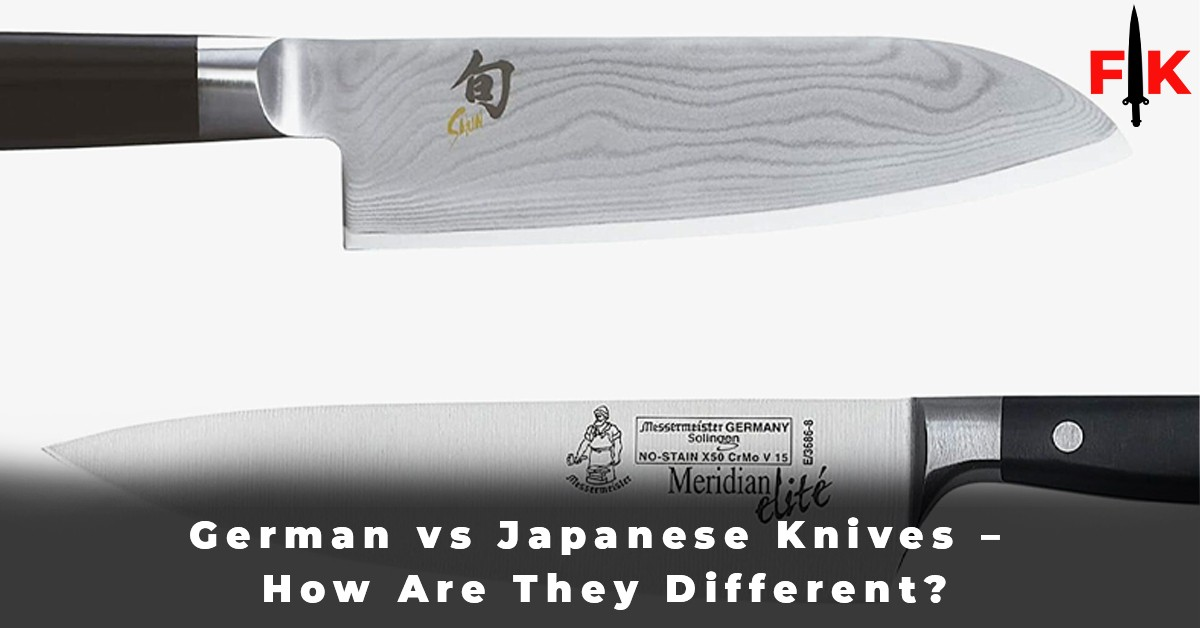 German vs Japanese Knives – How Are They Different