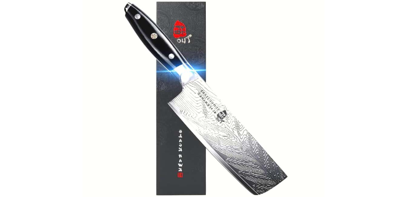 TUO Nakiri Black Hawk – Chef's Knife