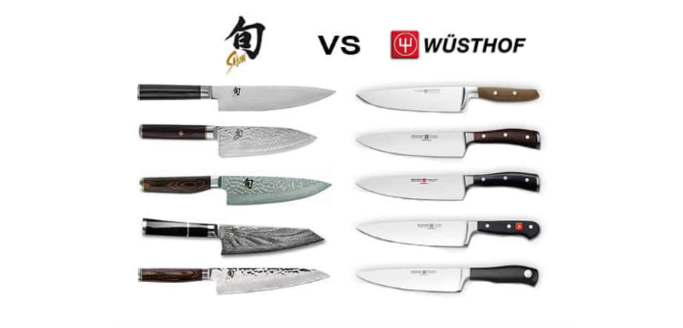 What's the Difference between Wusthof and Shun Knives