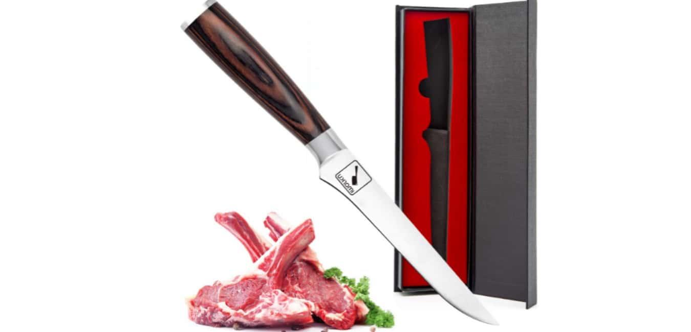 Imarku Boning Knife, 6-Inch Fillet Knife with Razor Sharp