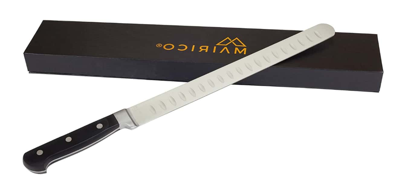 MAIRICO Ultra Sharp Premium 11-inch Stainless Steel Carving Knife