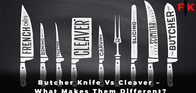 Butcher Knife Vs Cleaver – What Makes Them Different