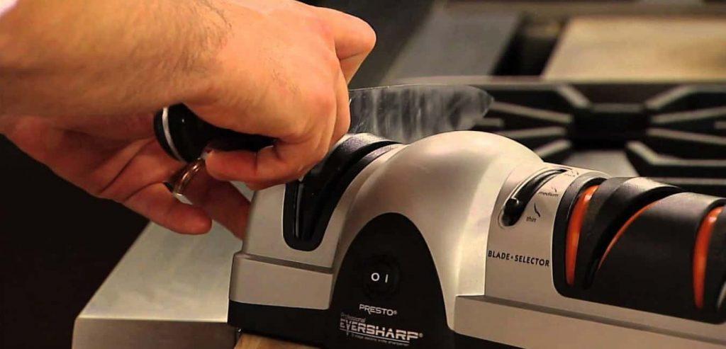 How to use Presto 08800 EverSharp Knife Sharpener