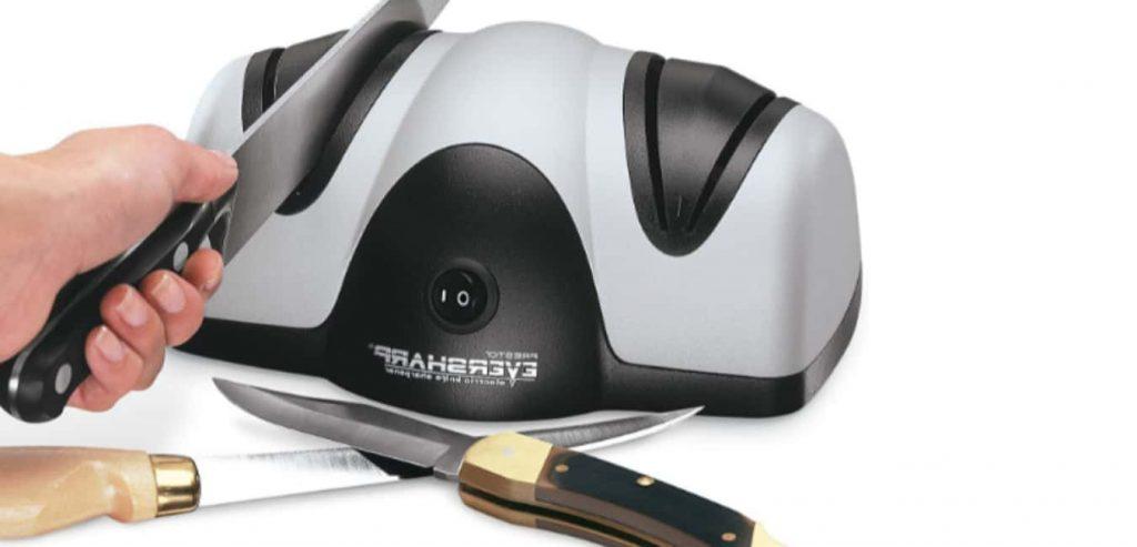 Presto EverSharp Electric Knife Sharpener Features