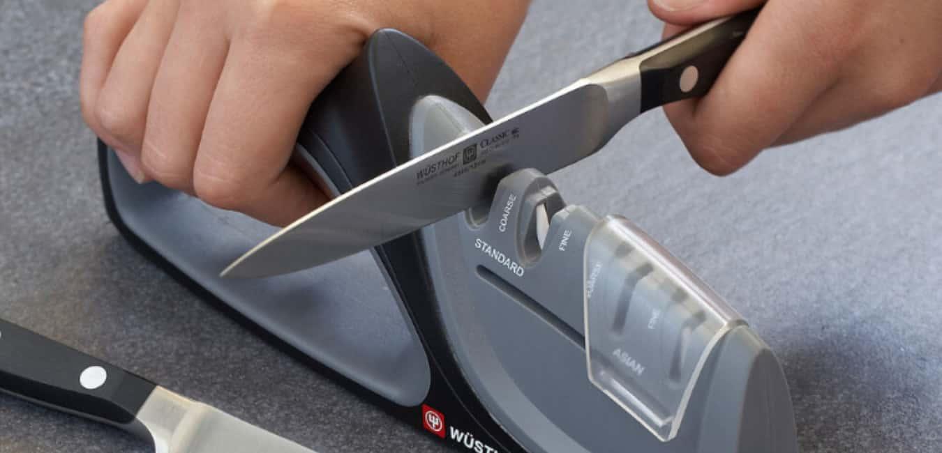 Wusthof Stage 2 Handheld Sharpener Features